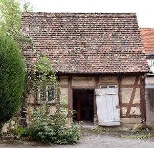 Waschhaus im Pfarrgarten