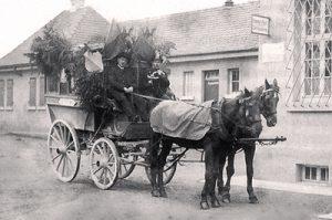 Postkutsche 1916