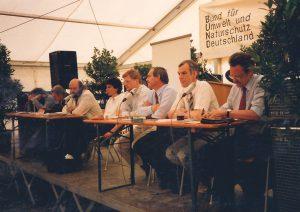 Podiumsdiskussion zur Bahnreaktivierung 1991
