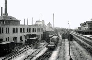 Bahnhof LB