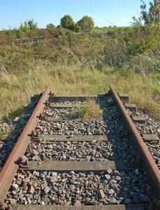 Unterbrochenes Gleis
