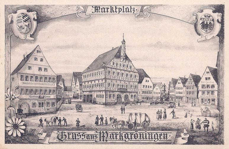 Marktplatz vor 1900