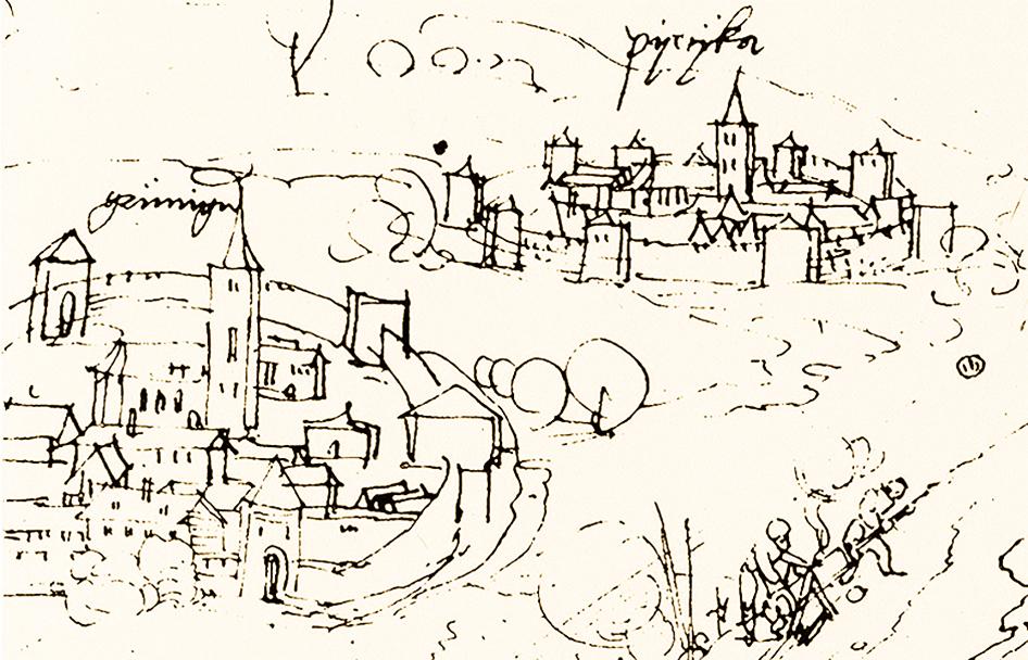 Ausschnitt Dürer 1519
