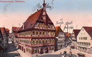Marktplatz um 1910