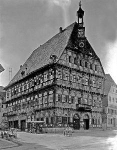 Rathaus um 1915