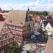 Marktplatz vom Hochwachtturm