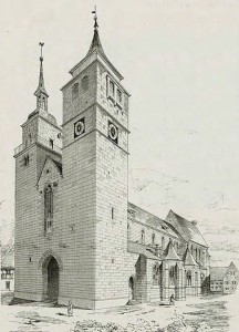 Bartholomäuskirche von Südwesten