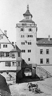 Oberes Tor vor 1890