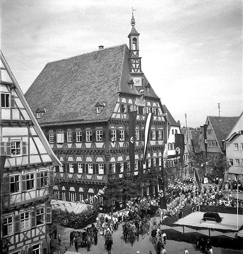 Marktplatz um 1938