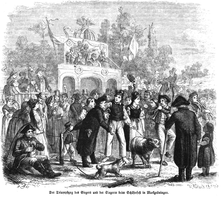 Königspaar um 1860