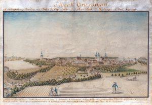 Stadtsilhouette von 1797