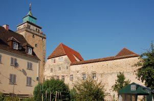 Wimpelinhof und Stadtmauer