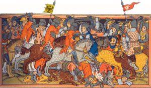 Karl der Große gegen Heiden