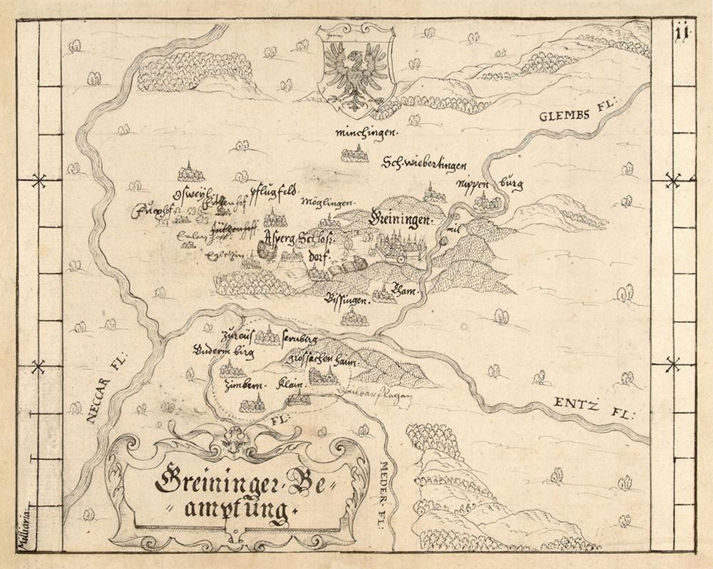 Amt Grüningen um 1600