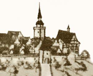 Schlossareal 1682