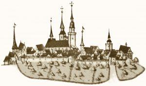Forstkarte Stadt