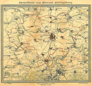 Oberamt Ludwigsburg 1907