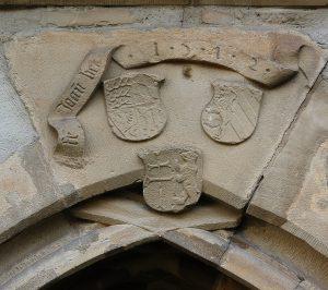 Wappen 1512 Eingang