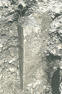 Mauerecke Tiefbau 1990