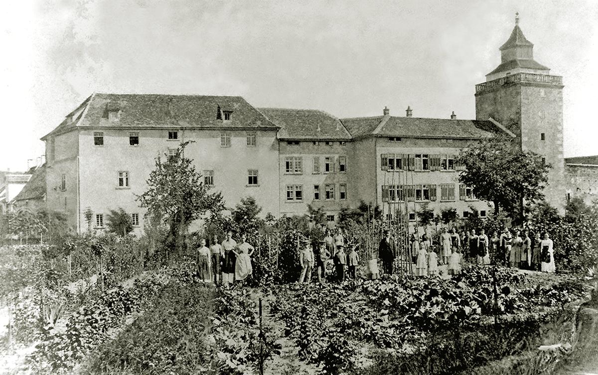 Westflügel des Schlosses
