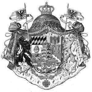 Großes Königswappen Württemberg