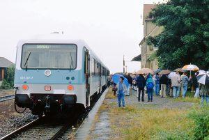 DB-Sonderzug 628 zum Schäferlauf 1995