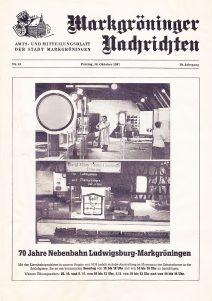 Nebenbahn-Ausstellung 1987