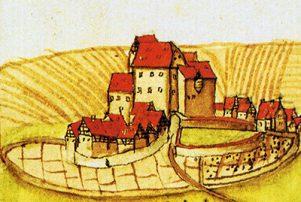 Riexinger Schloss im Forstlagerbuch