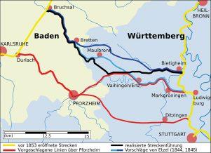 Westbahn-Planung