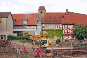 Baustelle am Heilig-Geist-Spital