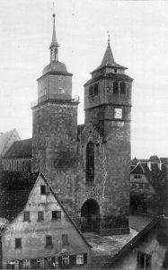 Bartholomäuskirche um 1900