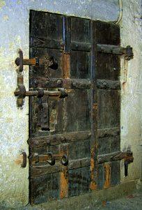 Tür zur Pulverkammer