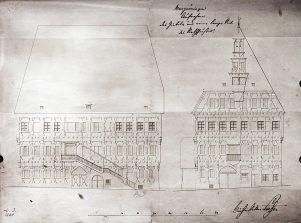 Umbau-Plan Rathaus MG