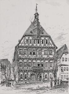Rathaus vor 1900