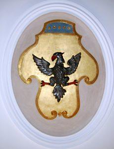 Wappen Groeningen Rathaus
