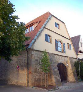Zehntscheuer Südfassade