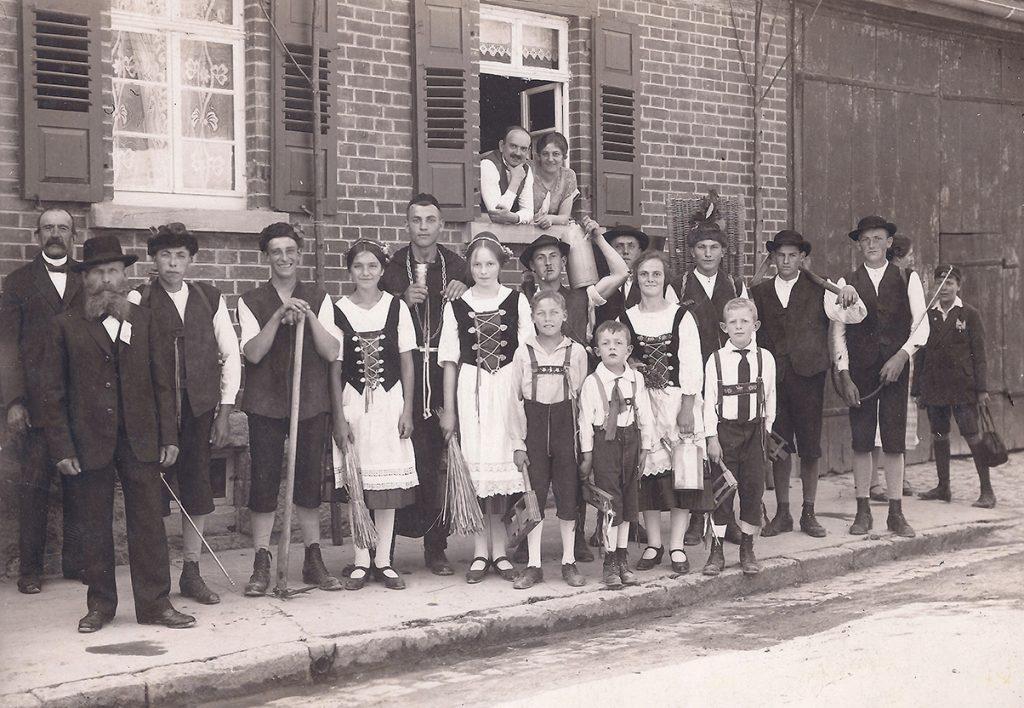 Schäferlauf-Gruppe 1926