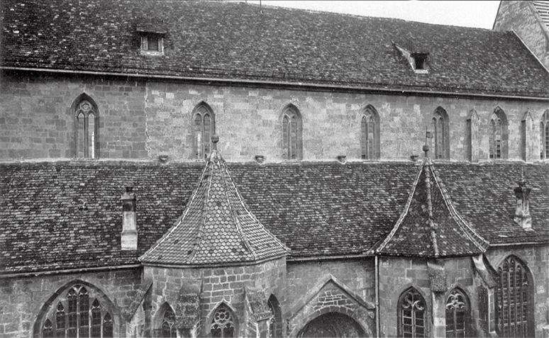Südfassade der Bartholomäuskirche