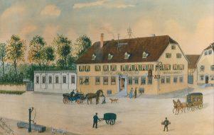 Gasthof zur Post 1906