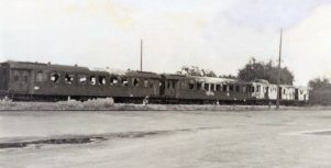1945 attackierte Waggons