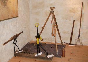 Ausstellung Bahnbau-Werkzeug