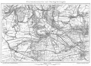 Flurnamenkarte von Markgröningen 1930