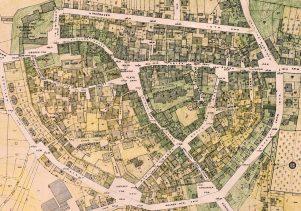Stadtplan 1940