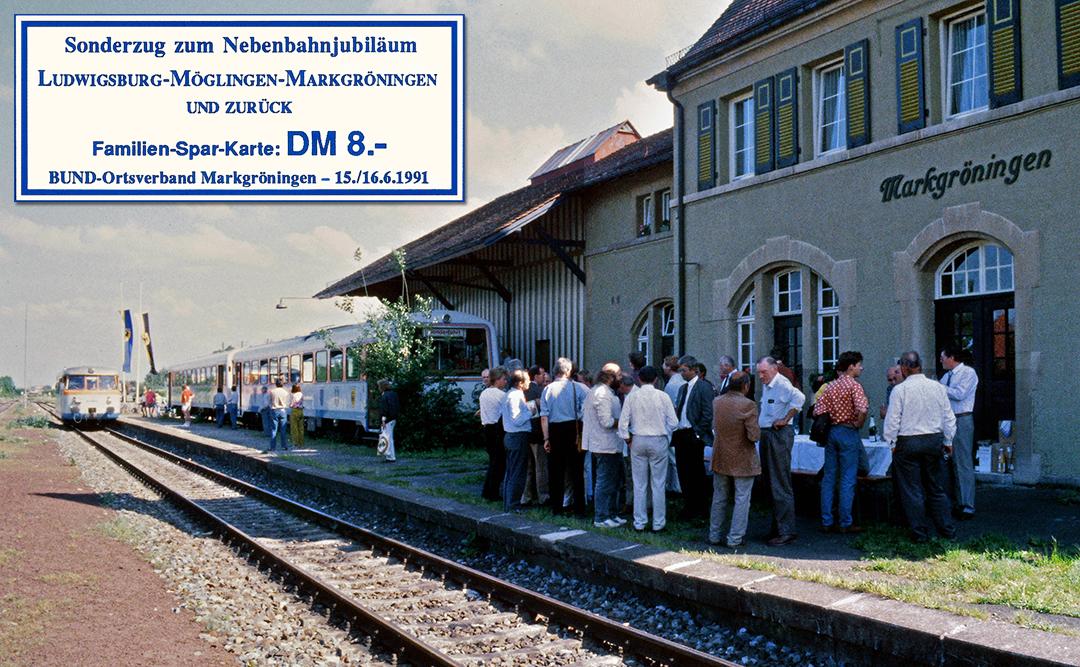 Nahverkehrsforum 1991 und Billet