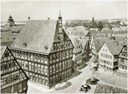 Altstadt-Ansichten nach 1945