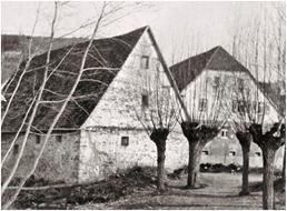 Periphere Gebäude bis 1945