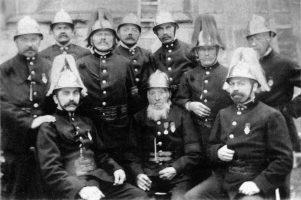50 Jahre Freiwillige Feuerwehr Markgröningen 1911