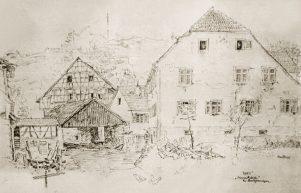 Obere Mühle 1945