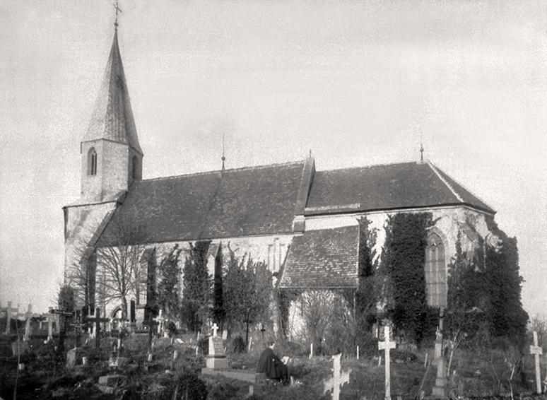 Frauenkirche um 1910