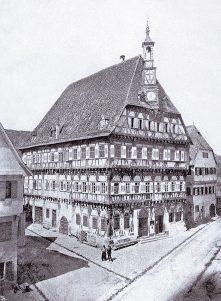 Rathaus von Südosten
